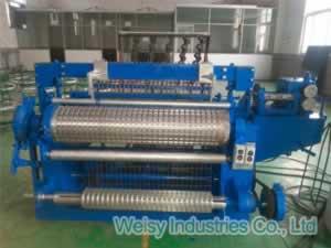 Welded Mesh Machine