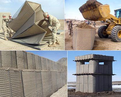 Defensive Barriers,Hesco Defensive Barriers