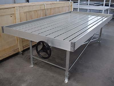 Ebb and Flow Rolling Bench,ebb and flow rolling tables