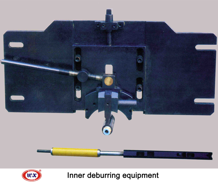 Inner deburring equipment