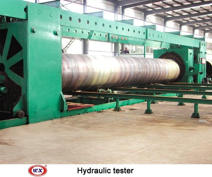 Hydraulic tester