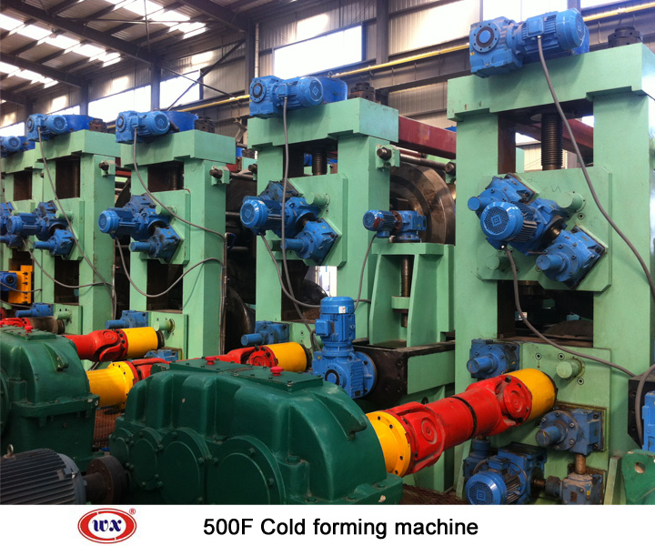 Cold forming steel mill