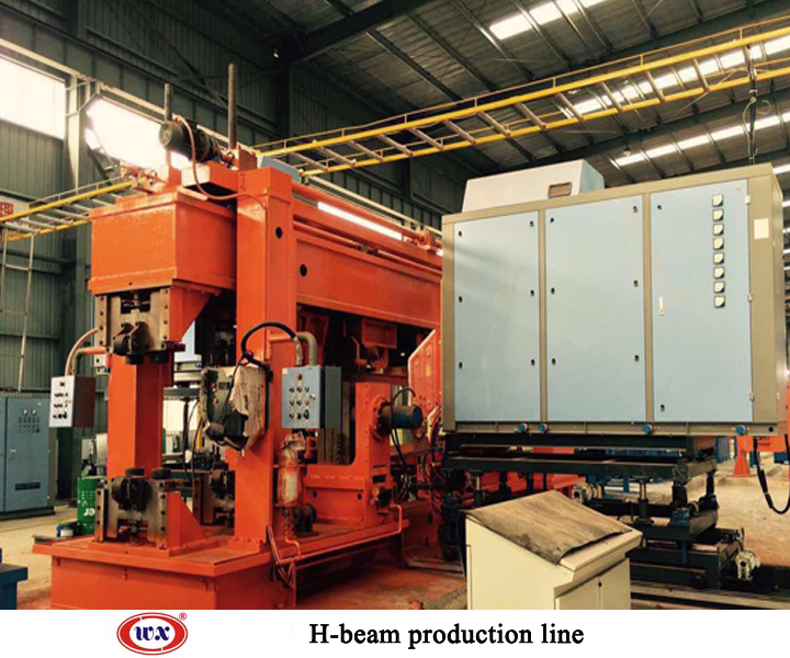 High frequency welding light h-beam product line