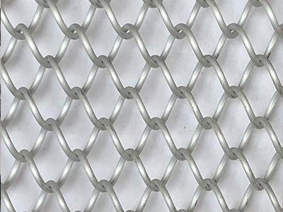 Xy Ag1675 Coil Fabricoil Metal Mesh Shower Curtain