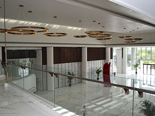 XY-1405 Suzhou Golden Mantis Decoration Company Headquarters