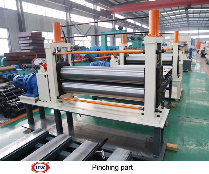 Cut length machine