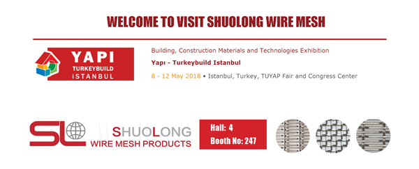 SHUOLONG wire mesh on Turkey Building