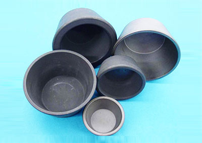 Electric furnace type graphite crucible
