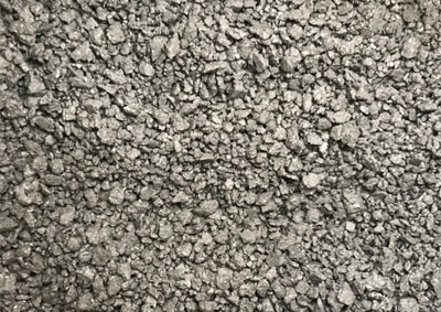 Graphite electrode scrap carburant