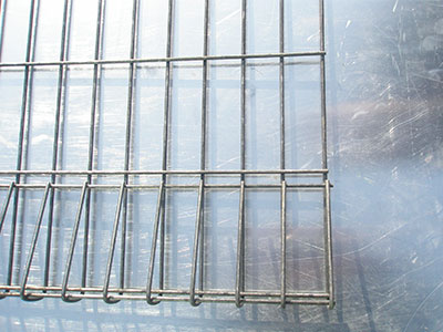 Roll Top&End Welded Mesh Fence /BRC Fence/welded mesh fence