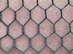 Galvanized Hexagonal Wire Mesh - Plastic Coated Gabion