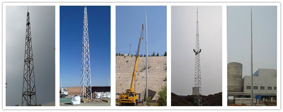 Lightning protection system_Communication Steel Tower-Hebei Tengyang Steel  Structure Co., Ltd.